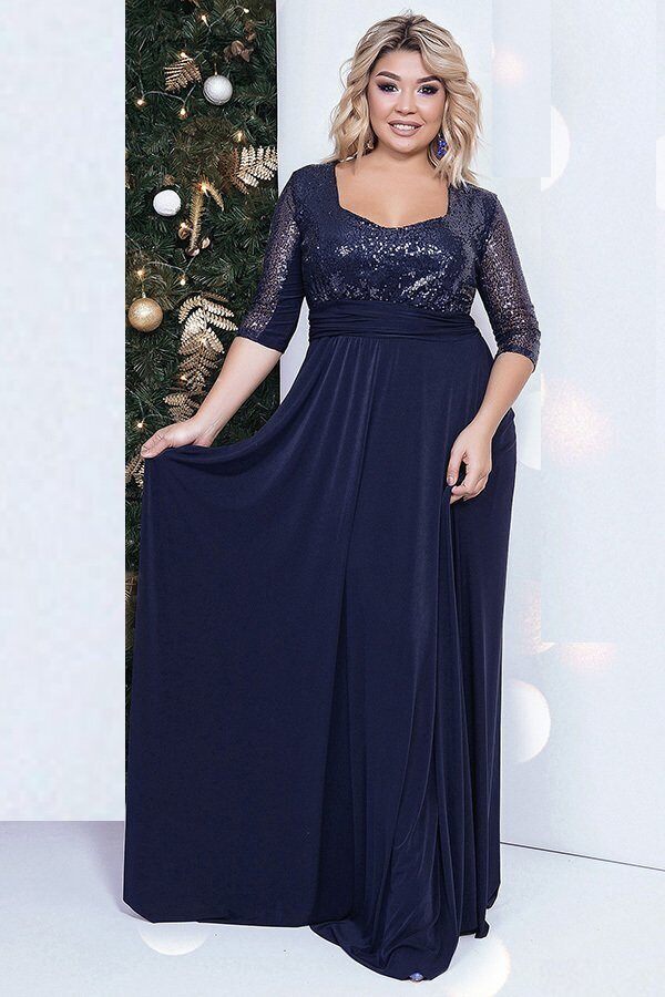 0c9c76a76cf Праздничные платья больших размеров - купить в СПб недорого