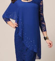 5d890f9af83 ... одежда больших размеров представлена в широком ассортименте.  Праздничные платья ...