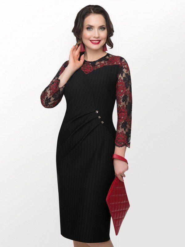 4e56a84937f Деловые платья и костюмы больших размеров - купить в СПб недорого